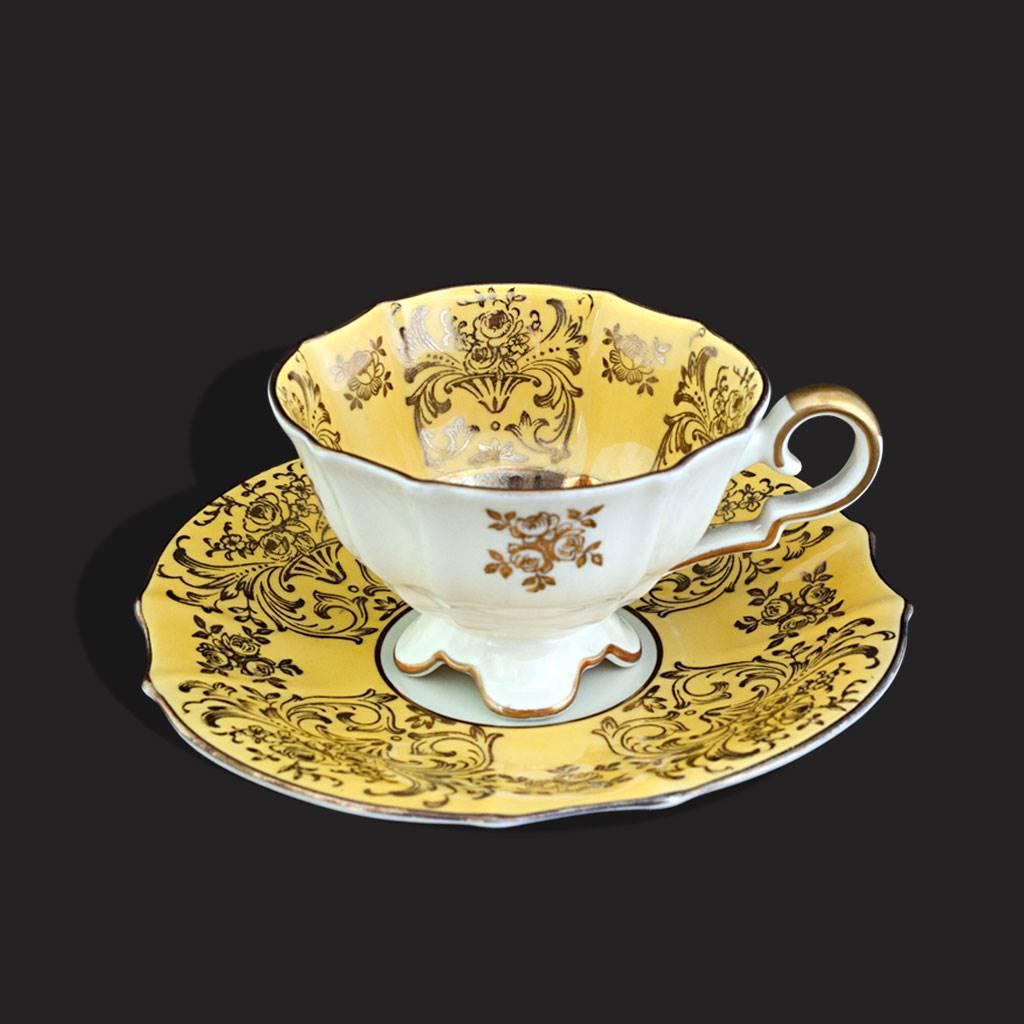 resm Bavaria 24k altın iş fincan