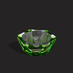 Resim Moser zümrüt çek kristali küllük