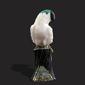 Resim Granit Kuş Figuran