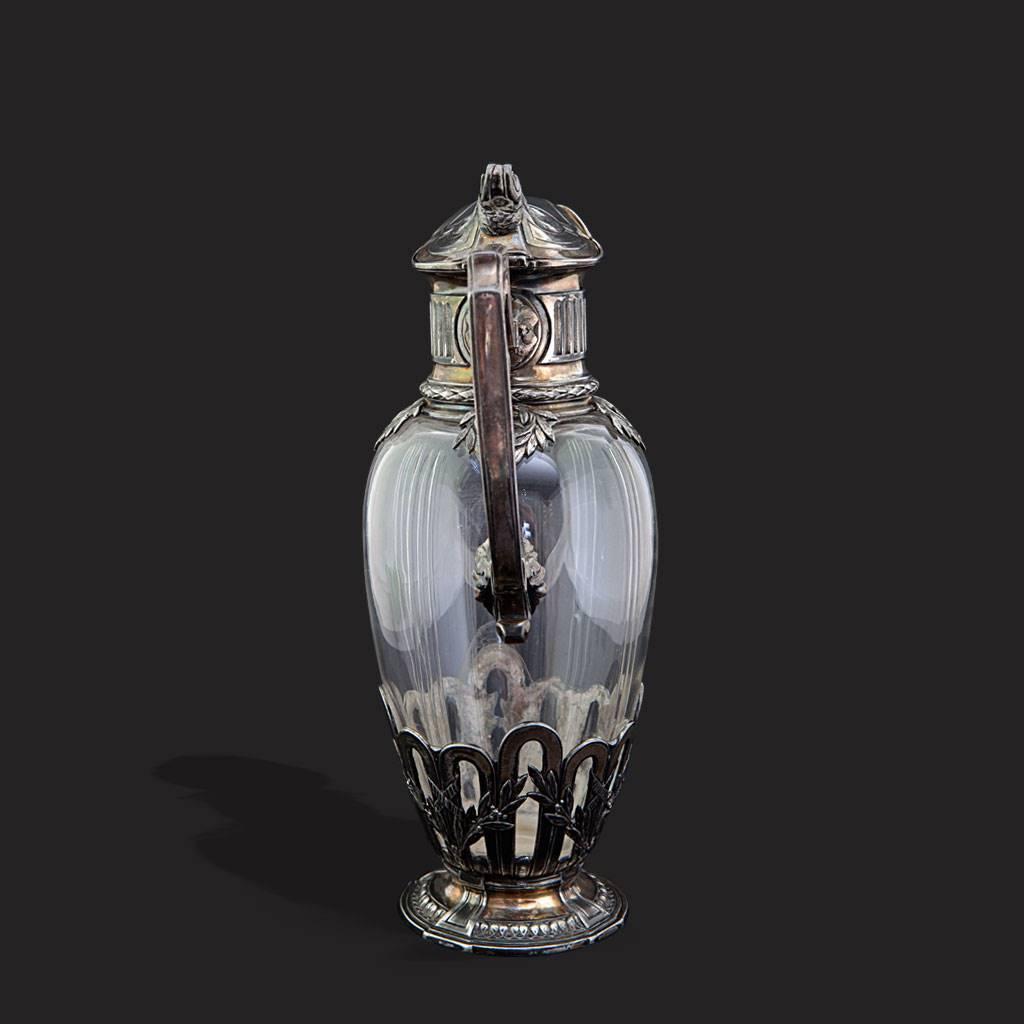 resm Fransız gümüş kaplama eşsiz iş karaf