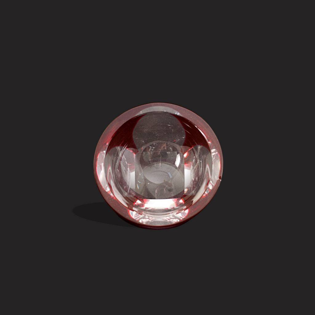resm Moser damgalı yakut çek kristal butik küllük