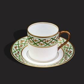 Resim Limoges 24k altın iş özel seri fincan