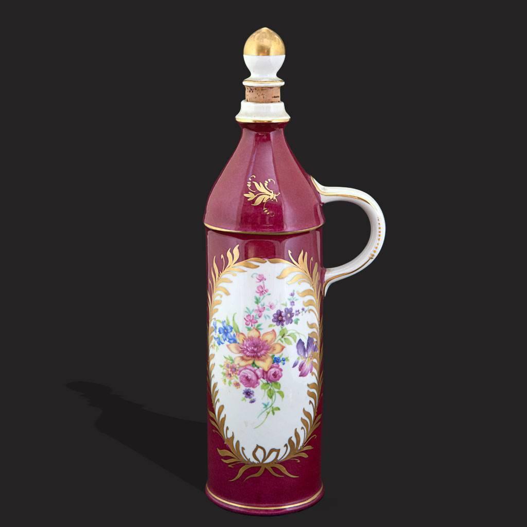 resm Limoges el boyama porselen özel seri karaf