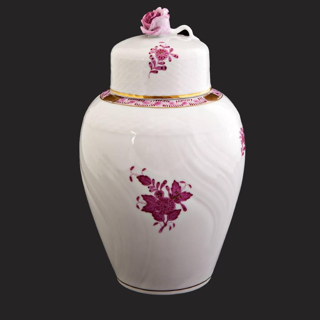resm Herend appony damgalı eşsiz gül vazo