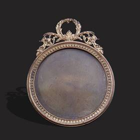 Resim Fransız bronz çerçeve
