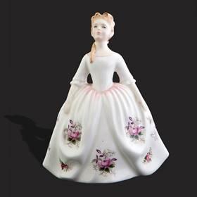 Resim Royal Doulton damgalı prenses biblo
