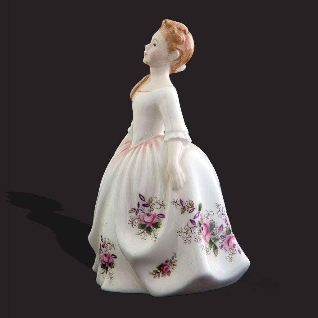 resm Royal Doulton damgalı prenses biblo