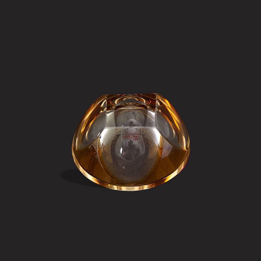 resm Moser sarı özel renk çek kristali küllük